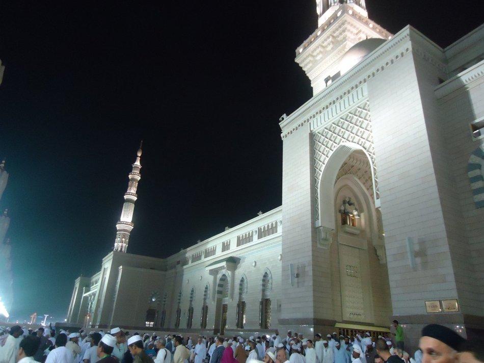 Masjid Nabawi di bagian luar