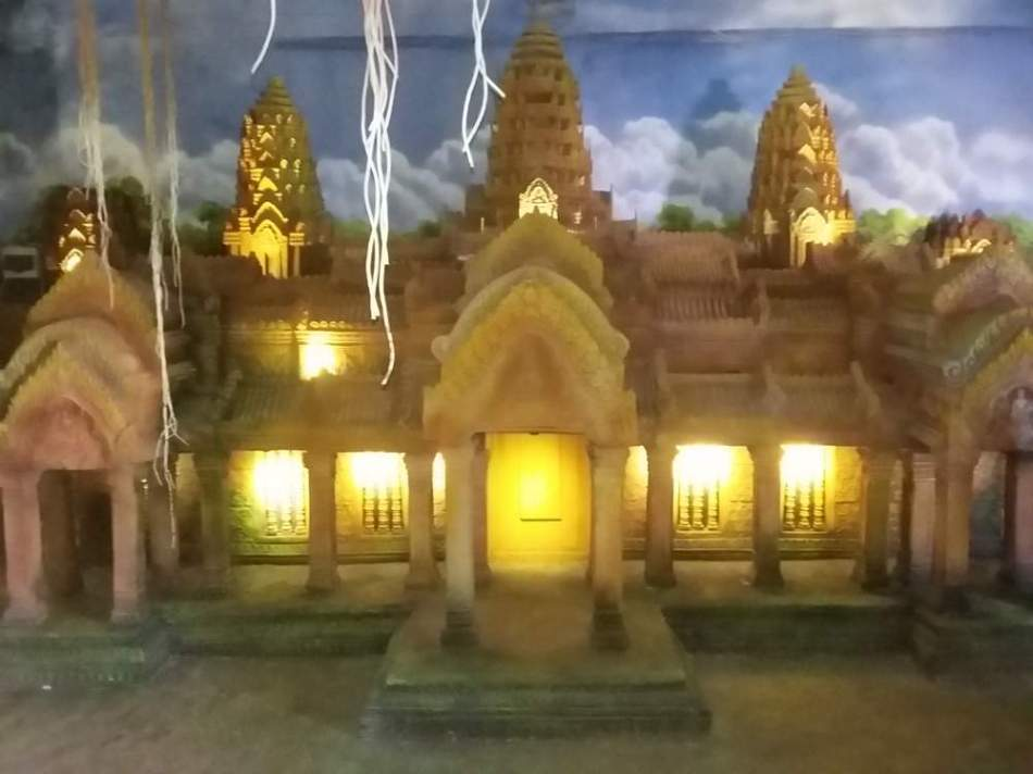 Miniatur Angkor Watt