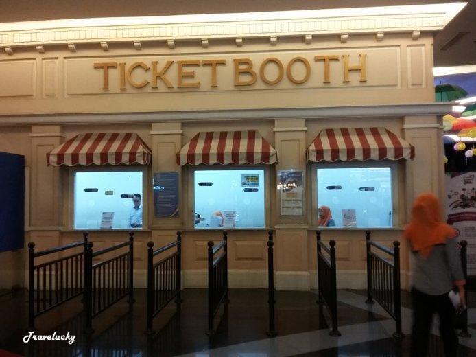 Tempat Penjualan tiket, bagi yang belum punya