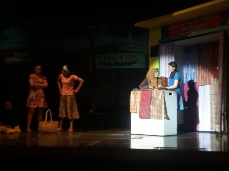 Pertunjukan drama musikal