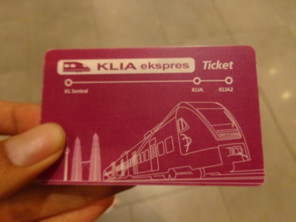 Tiket KLIA Express