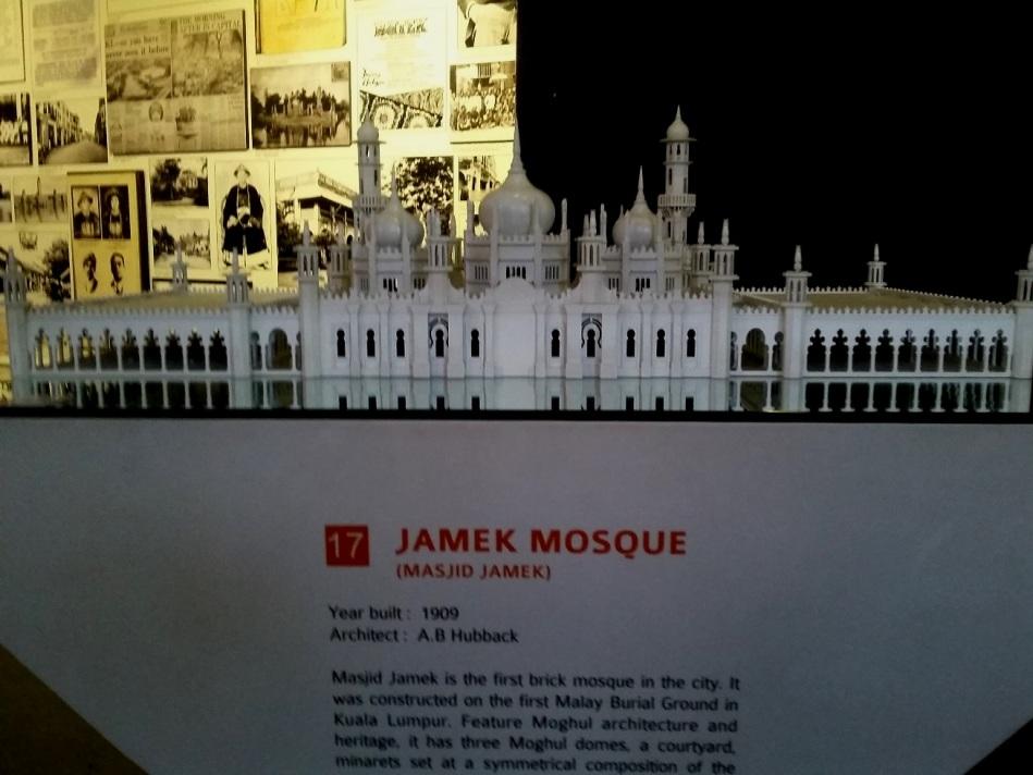 miniatur Masjid Jamek