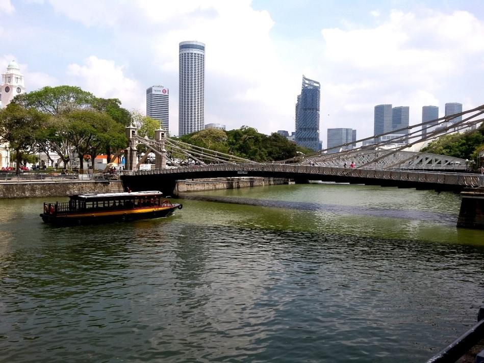 Sungai Singapura, Jembatan Covenagh, dan Gondola