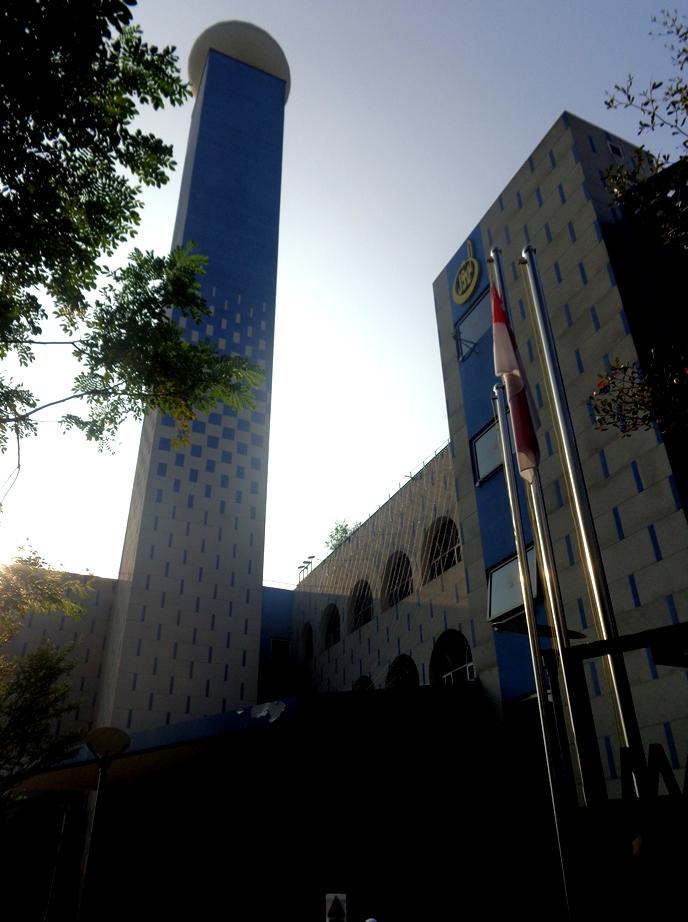 Menara Masjid An nUR