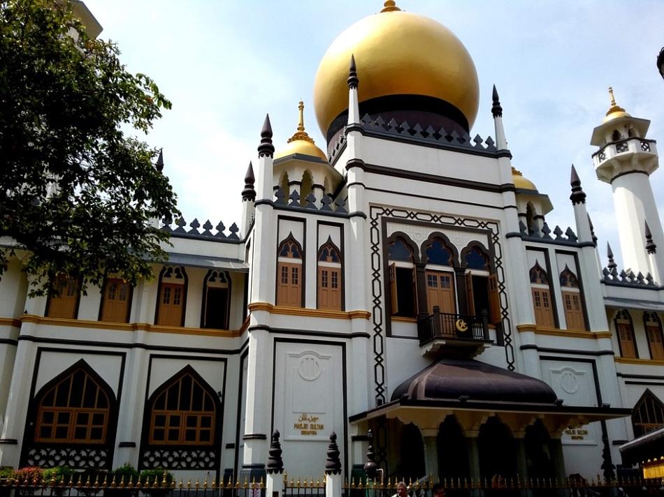 Tampak Depan Masjid Sultan
