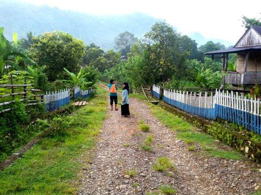 Suasana Dusun Lemba Pangi